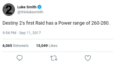 Luke smith raid tweet