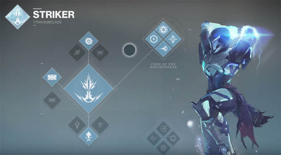 Titan Striker subclass