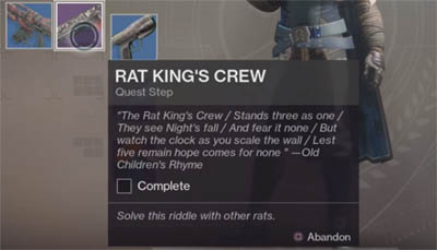 Rat King's Crew inventory item