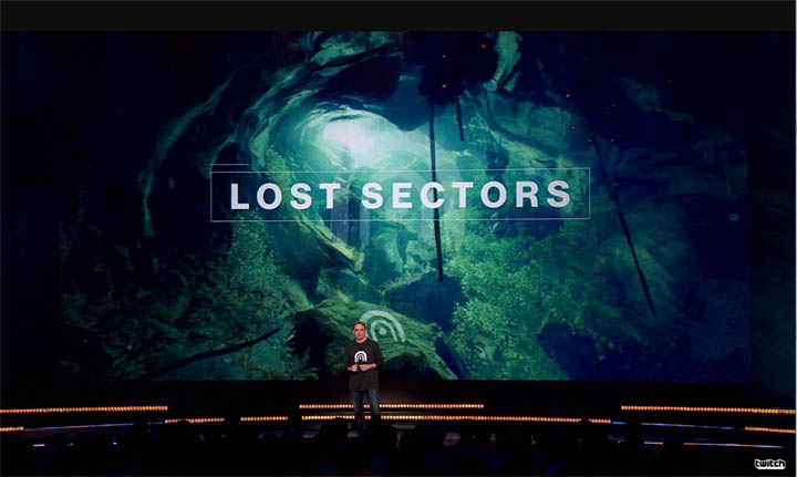 Destiny 2 - Lost Sectors and Treasure Maps