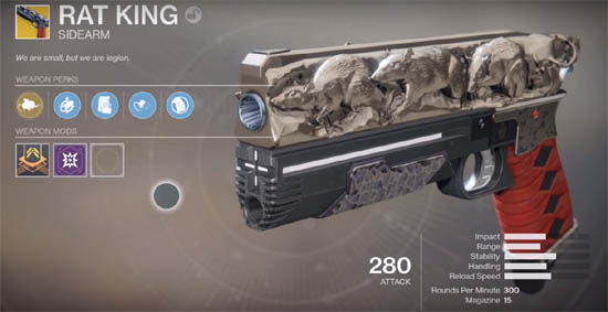 Rat King exotic