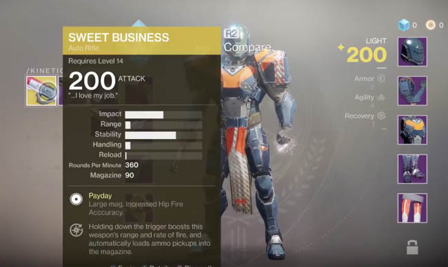 Sweet Business exotic