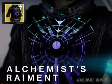 Alchemist's Raiment - Warlock exotic