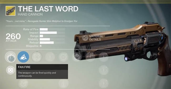 Best exotic weapon destiny from boutys picture wallfree ninja