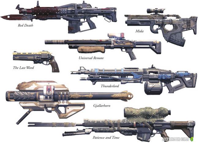 Destiny - Exotic Weapons