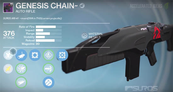 Genesis Chain (Auto Rifle)