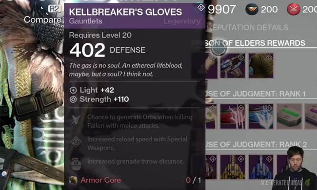 Prison of Elders Rewards