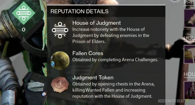 Reputation Details