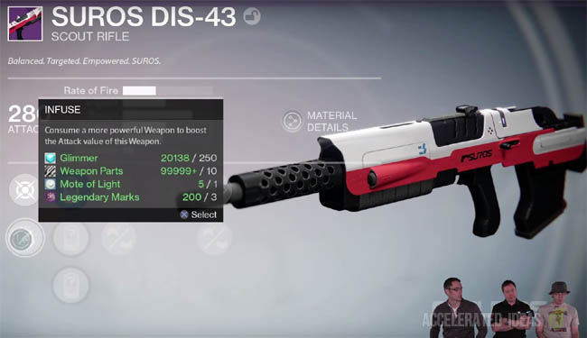 Destiny The Taken King - Infuse Perk Explained