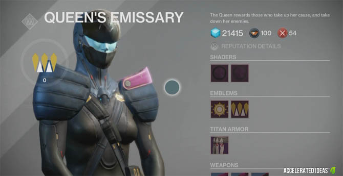 Destiny - How to Get Guaranteed Legendary Gear via Queens Wrath