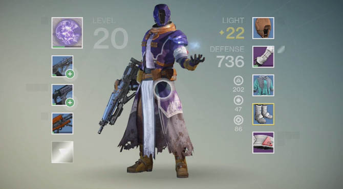 Destiny - How to Increase Light Level after Level 20