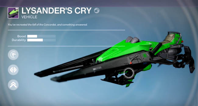 Lysander's Cry sparrow