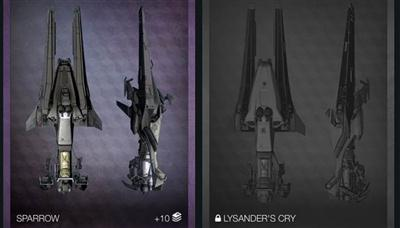 Destiny Dawning Update - Lysanders Cry Secret Sparrow