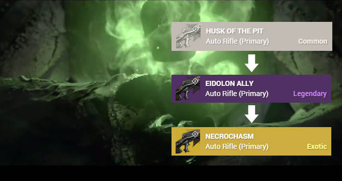 Destiny - How to get the Necrochasm Exotic Weapon