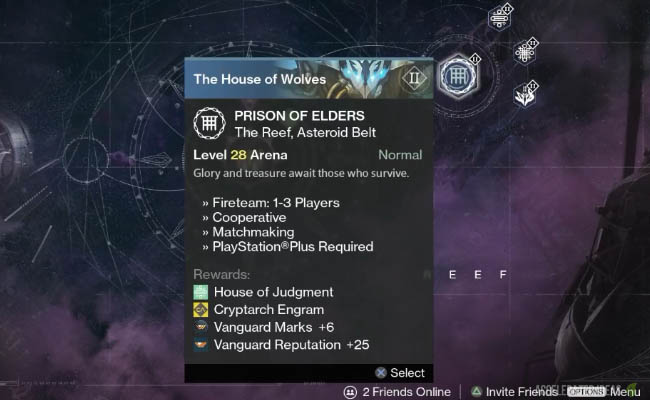 Prison of Elders challenges