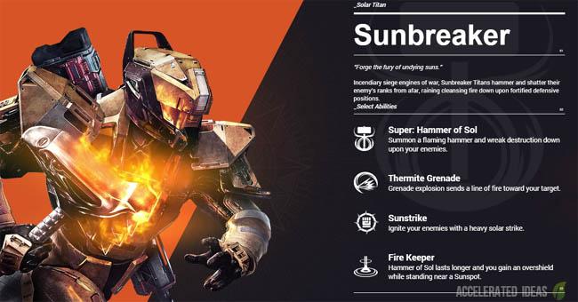 Titan - Sunbreaker