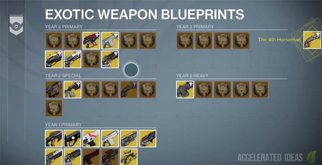 The Taken King - Exotic Weapon and Armour Blueprints Explained ...