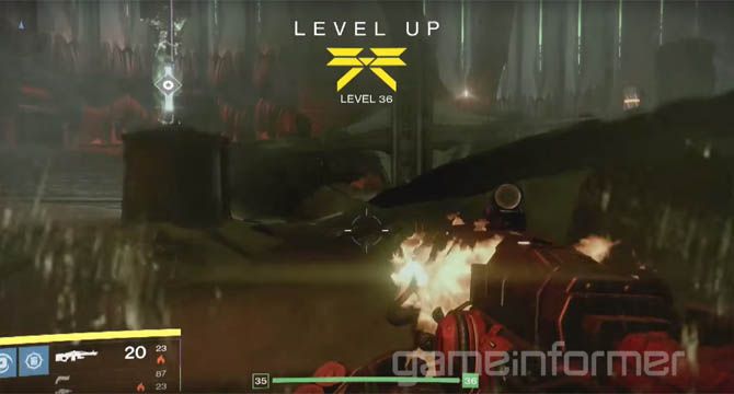 Destiny The Taken King - Light Levels Removed for New Linear XP System