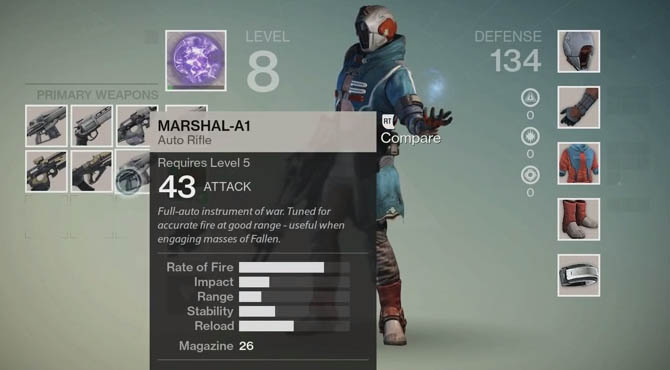 Destiny - How to Upgrade Weapons and Find New Ones