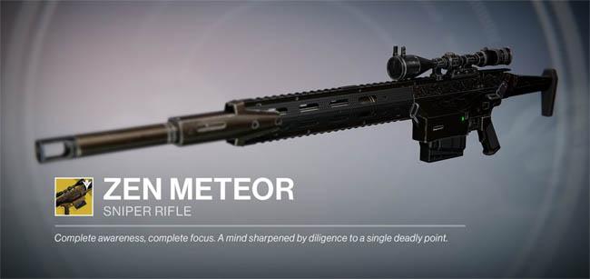 Zen Meteor - Exotic Sniper Rifle