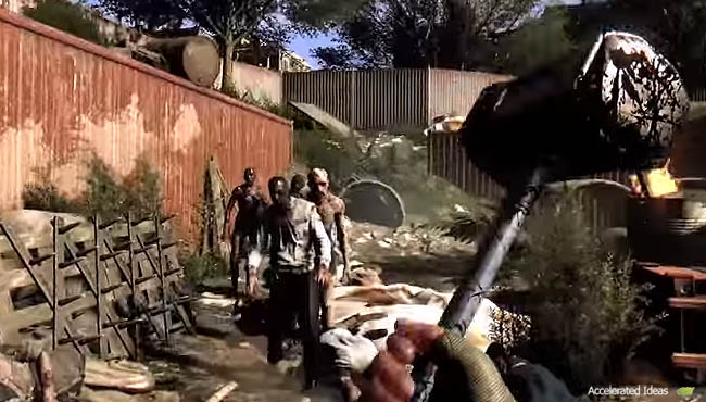 Dying light weapons upgrades and mods accelerated ideas two handed heavy weapons malvernweather Images