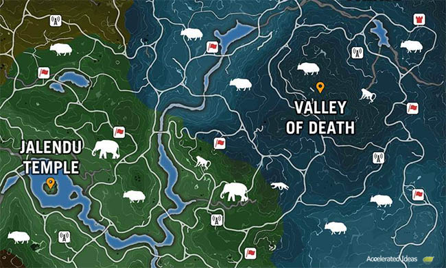 Far Cry 4 Tiger Fish The Offline Far Cry 4 Map