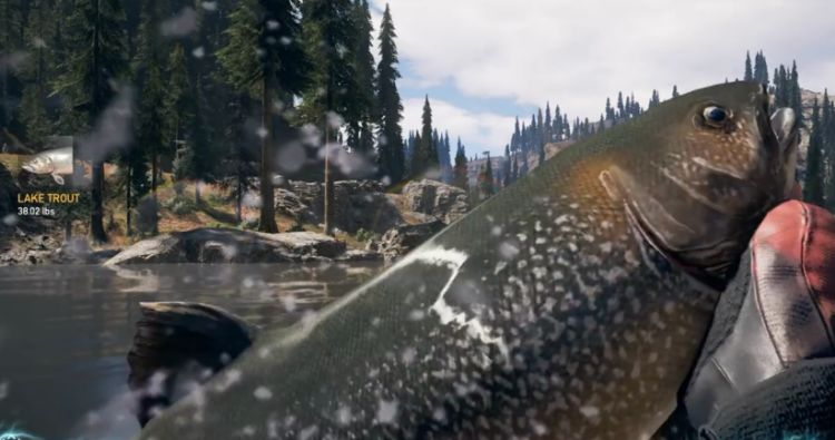 Far Cry 5 - Hard Fishing Locations and Region Records (Old Betsy Unlock)