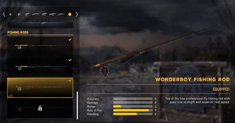 Wonderboy fishing rod