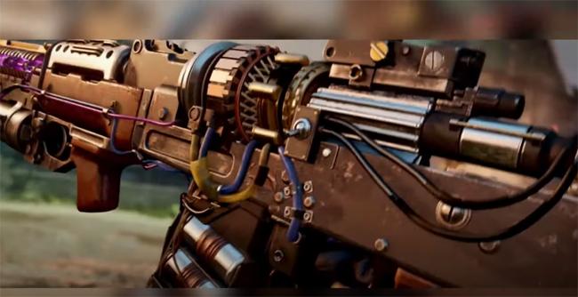 Ray gun rifle Wonder Weapon