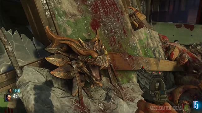 Zombies Gorod Krovi Dragon Shield Zombie Shield Part Locations