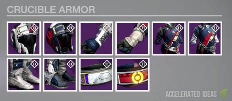 Crucible House of Wolves gear