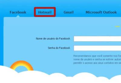 Skype - Contatos MSN, Hotmail