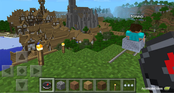 MCPE 0 8 0 Features and Recipe List - Minecarts, Rails