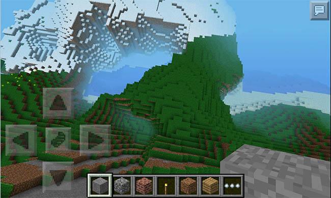 Minecraft PE 0.9.0 - Mundos infinitos