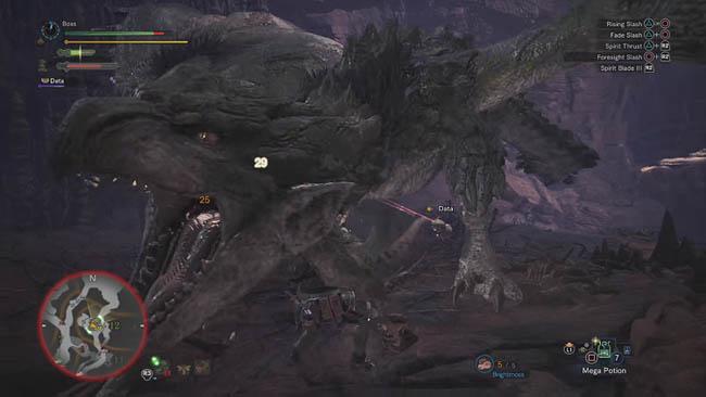Rathian Elder Dragon fight