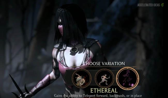 Mortal Kombat X Mileena Variations Fatalities And Brutalities