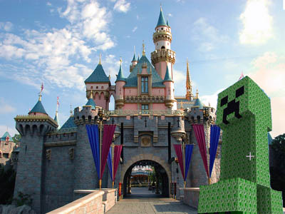 Minecon 2012 Confirmed for Disney Land Paris