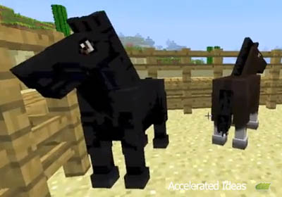 Minecraft 1 6 Features New Horse Mob Accelerated Ideas