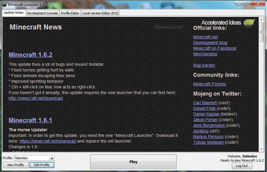 old version of minecraft launcher - Minecraft PLAY OLD ...