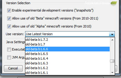 Minecraft Launcher 1 2 - Play Old Beta and Alpha Versions