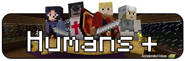 Mods Minecraft - Humans+
