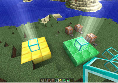 Minecraft bacon block