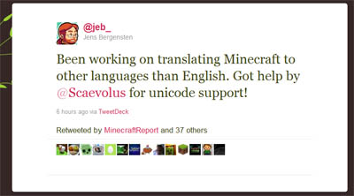 Major Minecraft Translation Underway You Can Help Jeb Too
