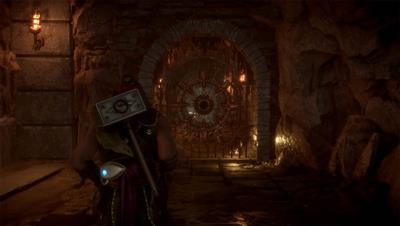 Mortal Kombat 11 - How to Open Gold Locked Gates in Krypt