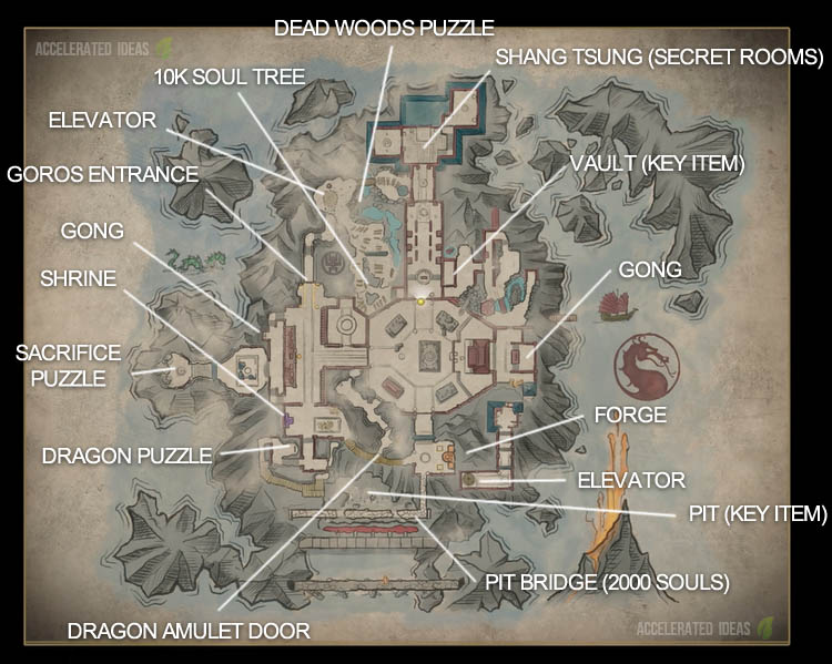 Mortal Kombat 11 - Complete Krypt Walkthrough Guide