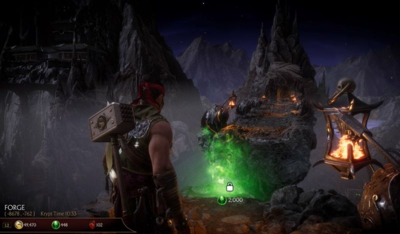 Mortal Kombat 11 - All Krypt Key Item Locations and Puzzle Guide