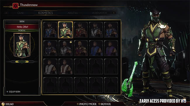 Mortal Kombat 11 - How to Unlock Alternate Skins and