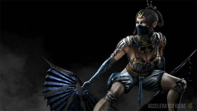 mortal kombat x how to change costumes and player card