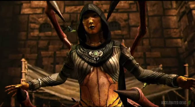 Mortal Kombat X - D'Vorah Variations, Fatalities and Brutalities