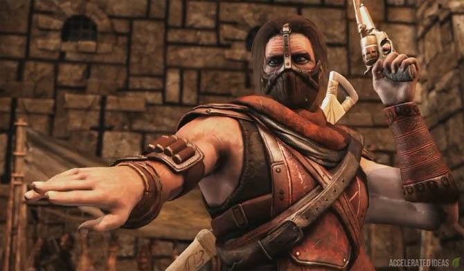 Mortal Kombat X - Erron Black Variations, Fatalities and Brutalities